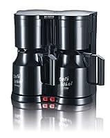 Severin KA 5828 Duo-Kaffeeautomat mit Thermokannen, schwarz