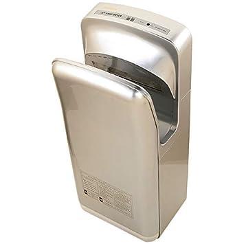 Secador de Manos Automático de Alta Velocidad para Secado Rápido Comercial, Vertical, 1600W: Amazon.es: Hogar