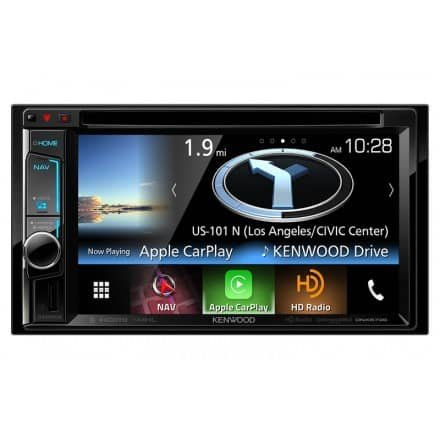 "Kenwood Excelon DDX6905S 6.8"" WVGA 2-DIN Multimedia DVD Receiver w/Wired CarPlay and Android Auto"