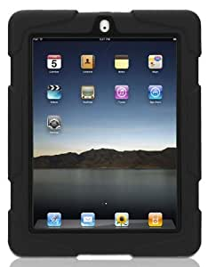 Griffin GB02480 Survivor Military Duty Case with Stand for New iPad & iPad 2 - Black by Griffin
