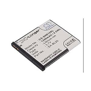 Bateria Sharp SH80iUC, SH81iUC, Li-ion, 1250 mAh