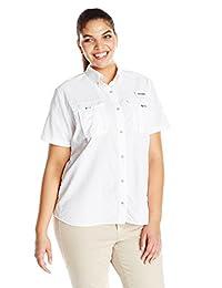 Columbia Sportswear Women's Plus-Size Bahama Short-Sleeve Shirt