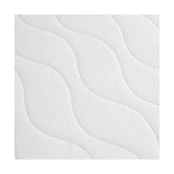 AmazonBasics - Materasso extra comfort a 7 zone a molle, Medio, 80 x 190 cm 2 spesavip