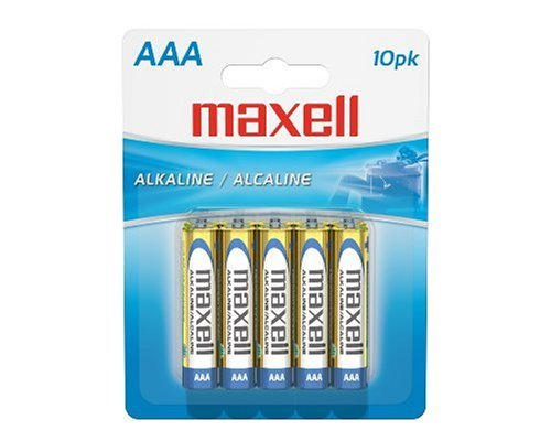 MAXELL 723810 BATERÍA ALCALINA AAA CELL 10-PACK