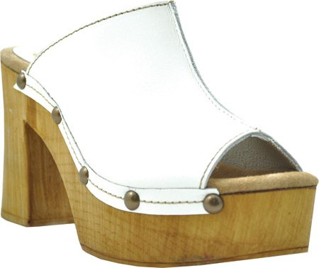 Women's Open Manzanita Leather White Sbicca Platform Sandal Toe 1qzxRd
