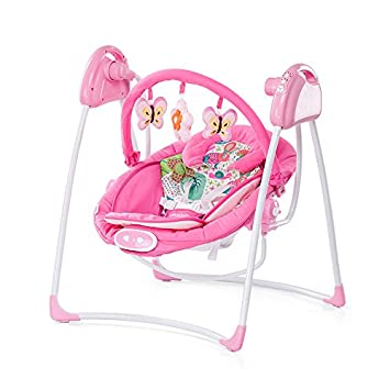 Exceptionnel Chipolino Electric Paradise Baby Swing And Bouncer (Pink)