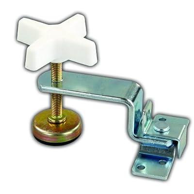 JR Products 20795 Fold-Out Bunk Clamp - Extended Zinc: Automotive