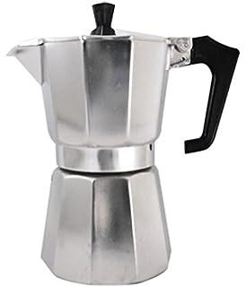 Amazon.com | Pezzetti Stove Top Moka Pot 6 cup, Black ...