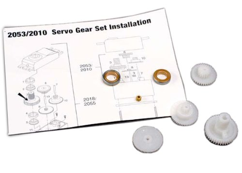 Traxxas 2010 Servo Gear Set for - Servo 2018