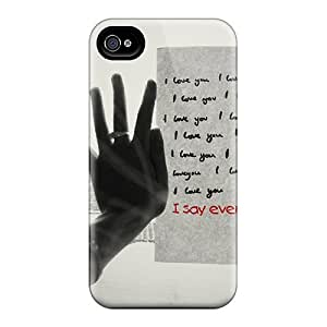 Series Skin Case Cover For Iphone 4/4s(i Love You)