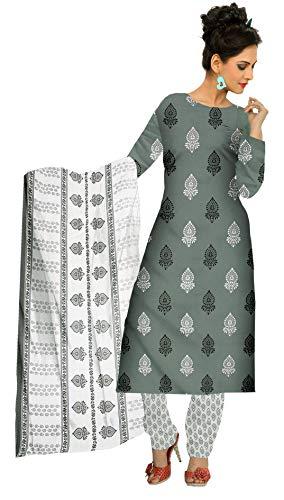 Ishagr Printed Cotton Suit Salwar Dupatta Material