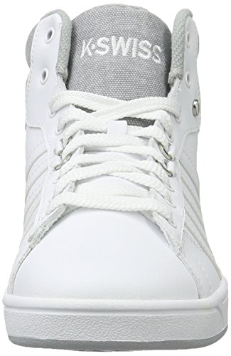 Bianco C Mid Highrise Uomo da Cmf Swiss K White Ginnastica Scarpe Basse Hoke wO46xqf