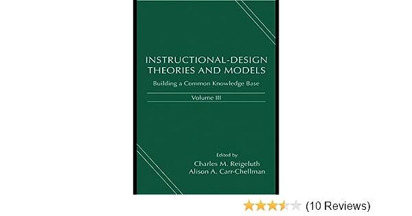 Amazon Instructional Design Theories And Models Volume Iii