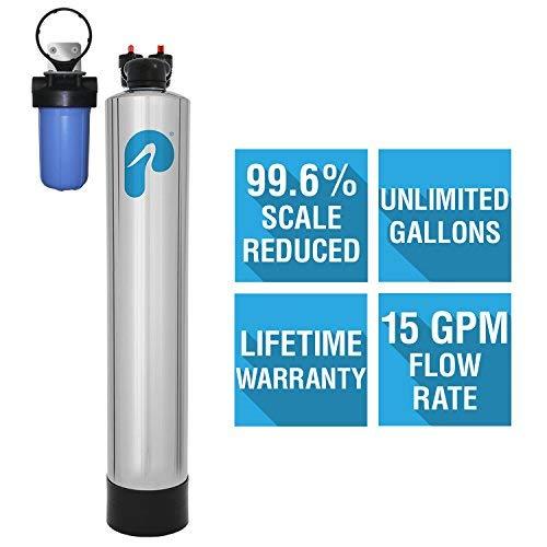 Pelican Salt-Free Water Softener & Conditioner (4-6 Bathrooms)