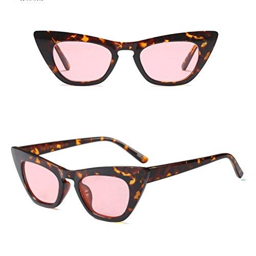 Sol Mujer Pink UV400 de Cat Conducción Protección Travelling de Eye Gafas Zhuhaitf para Holiday AxBqCF1nwE