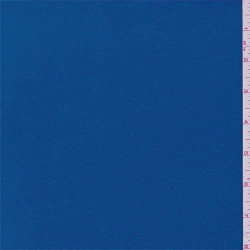 Aqua Blue 4-Way Stretch Micro Denier Jersey/Fleece, Fabric Sold By