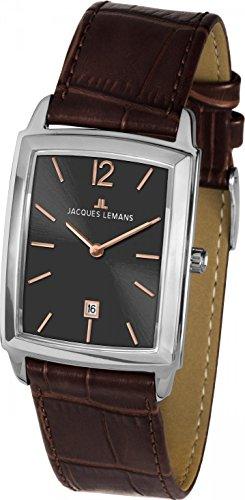 Jacques Lemans BIENNE 1-1904C Mens Wristwatch Flat & light