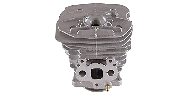 Includes: Piston pin and clips Stens 632-877 Cylinder Assembly Bore: 51 mm ring Not compatible with greater than 10/% ethanol fuel