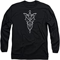 Lord Of The Rings Arwen Necklace Mens Long Sleeve Shirt