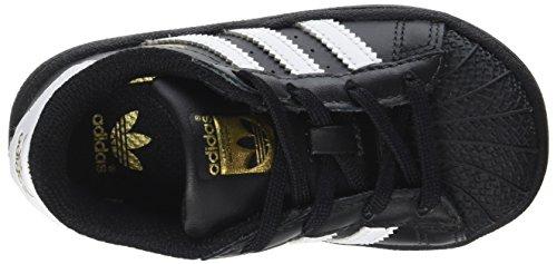 footwear core Unisex 0 Bimbi Sneaker White I White Black Nero 24 Adidas Superstar footwear gRqwH7xxU