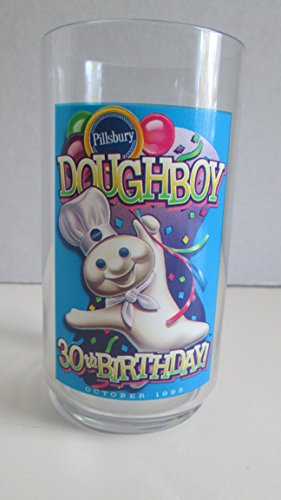 pillsbury-doughboy-30th-anniversary-plastic-tumbler-1995
