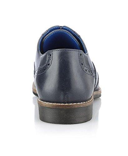 Red Tape , Chaussures de ville à lacets pour homme bleu bleu marine
