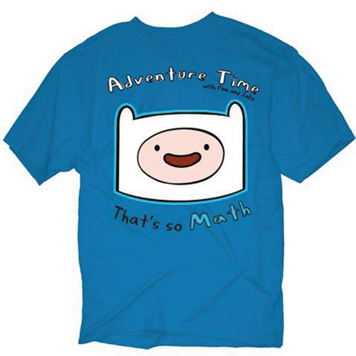 Adventure Time Finn Head Mens T-shirt (Medium)