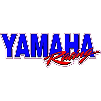 amazon com yamaha racing decal 12 x 4 free shipping in the united rh amazon com yamaha factory racing logo