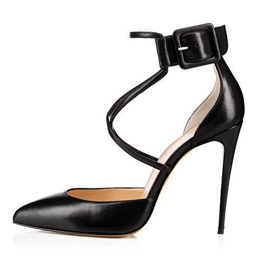 de Primavera Negro Novedad Negro 36 2018 la Mujer Artificial para y Stiletto PU Confort Ladies Color Banquete Verano Marrón de Zapatos Heel Pointed Noche Heels Boda tamaño Toe el wXFqUx