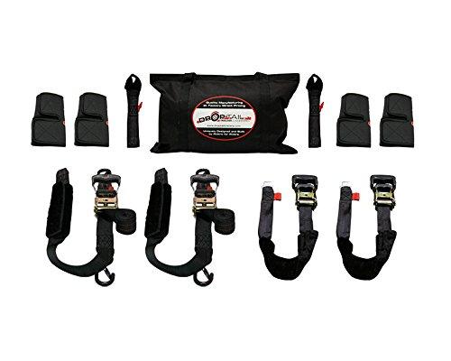 Drop Tail Trailers 03-PMTDK-01 DT Premium Motorcycle Tie-Down Kit