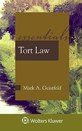 Tort Law (Essentials)