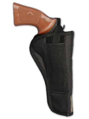 "Barsony New Revolver OWB Belt Holster for 6"" 22 38 357 41 44 Revolvers"