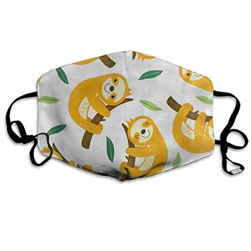 FunnyCustom Máscara bucal para Verano con diseño de piña, Fruta y chevrón, para Invierno, Saludable, cálida para niñas...