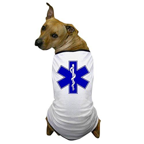 CafePress - Star of Life Dog T-Shirt - Dog T-Shirt, Pet Clothing, Funny Dog Costume (Dog Firefighter Costume)