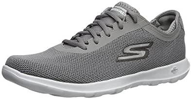 Skechers Womens 15360 Go Walk Lite - 15360 Grey Size: 5.5