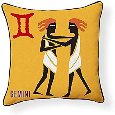 Naked Decor Gemini Pillow, Multicolored, Multi