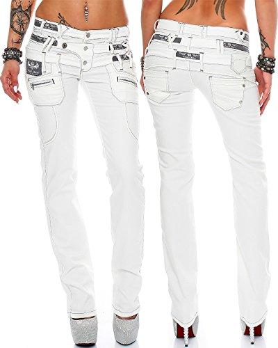 10 Bleu Slim Blanc Baxx Cipo Modell amp; Bleu Femme Jeans t1RTzwqY
