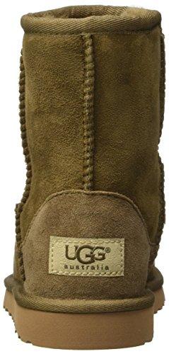 UGG K's Classic Tall, Botas Infantil Marrón (Dry Leaf)
