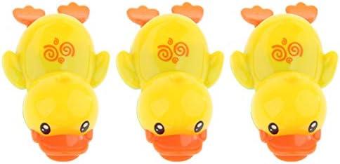 B Baosity キッズ お風呂用おもちゃ スイミング アヒル 水遊び バストイ 槽浴室 シャワープレイ おもちゃ 3個