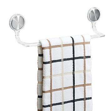 Länge30 CmFarbeTransparent Ohne Selbstklebend Küchenschrank Geschirrtuchhalter Handtuchhalter Bohren 5 Mdesign Handtuchstange 5RjL4A