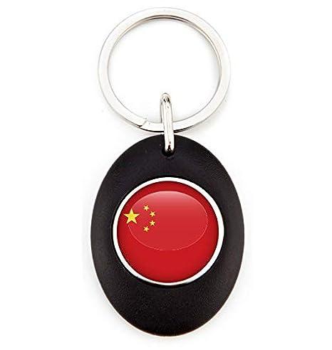 G1 Llavero Bandera China | Llavero Acrílico Redondo con ...
