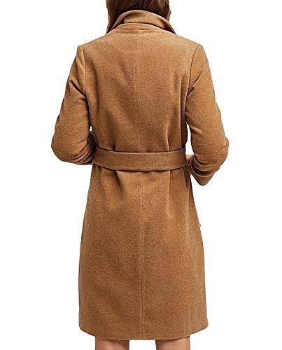 Cintura 5869 130 Donna Stradivarius Cappotto Con Di Stoffa wxYXF0x