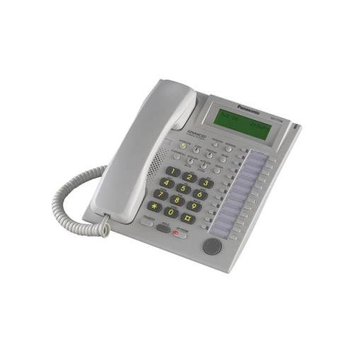 T7736 Kx Telephone Panasonic Corded (Panasonic KX-T7736 BTS W/ Large LCD - White)