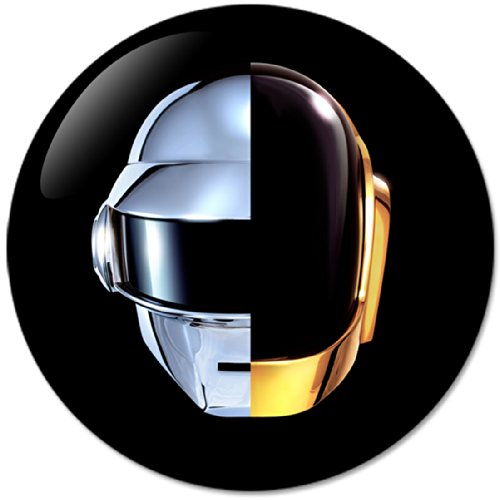Daft Punk #1 Music Collection Bottle Opener Round Button Badges With Refrigerator Magnet, NEW 2.25 - Punk Daft Accessories