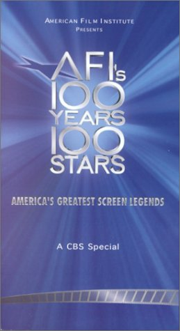 AFI's 100 Years, 100 Stars: American Film Institute (CBS Television Special) [VHS]
