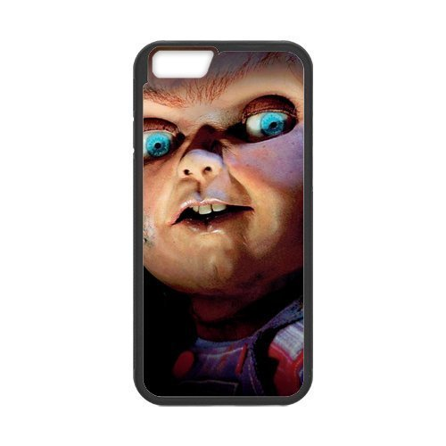 """Fayruz - iPhone 6 Rubber Cases, Chucky Doll Hard Phone Cover for iPhone 6 4.7"""" F-i5G428"""