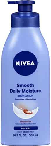 NIVEA Smooth Daily Moisture Body Lotion 16.9 Fluid Ounce