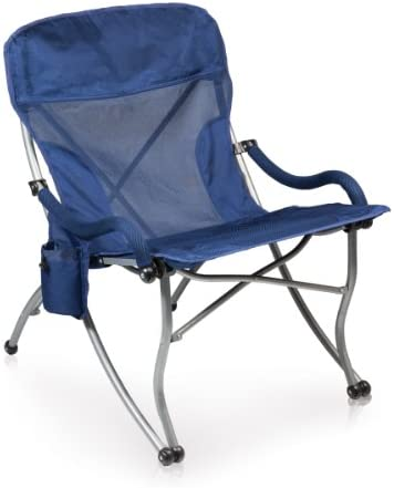 PICNIC TIME ONIVA – a Brand PT-XL Over-Sized 400-Lb. Capacity Outdoor Folding Camp Chair