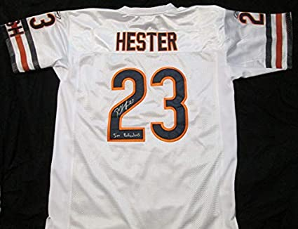 watch f49c9 d9b3c Devin Hester Signed Autographed 'I'm Ridiculous' Chicago ...
