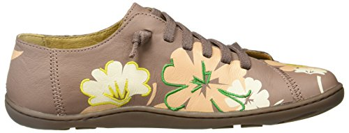 Camper Twins K200367-002 Zapatos planos Mujer Beige